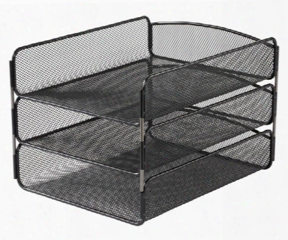 """Onyxâ""""¢ Triple Tray By Safco Office Furniture"""