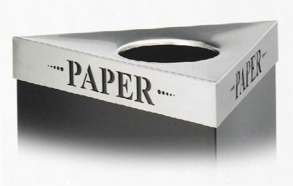 "Paper"" Recycling Receptacle Lid By Safco Office Furniture"