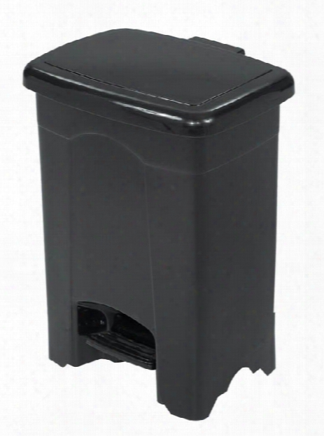 Plastic Step-on Receptacle, 4-gallon By Safco Office Furniture