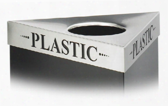 "Plastic"" Recycling Receptacle Lid By Safco Office Furniture"
