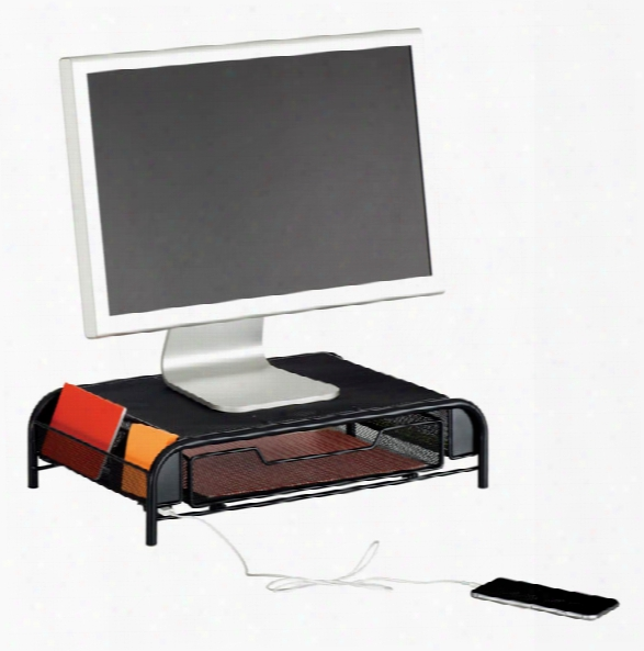 """Powered Onyxâ""""¢ Monitor Stand By Safco Office Furniture"""