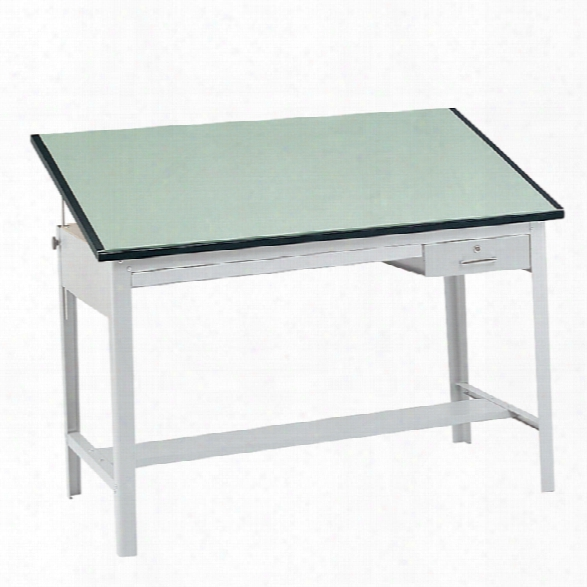 "Precision Drafting Table, 60"" X 37 1/2"" By Safco Office Furniture"