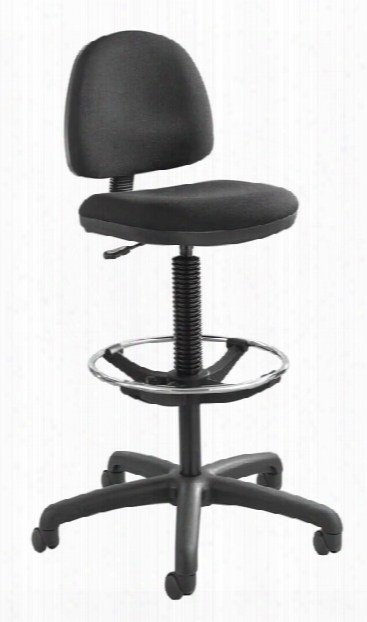 Precision Extended-height Chair With Footring By Safco Office Furniture