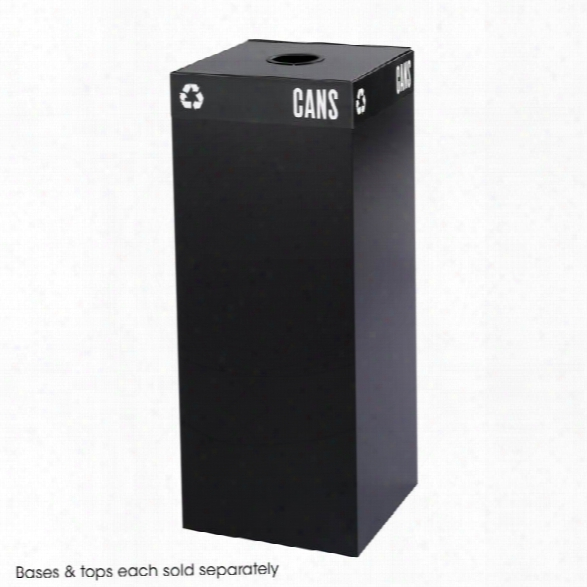 Public Squareã'â® 37-gallon Recycling Can Base By Safco Office Furniture