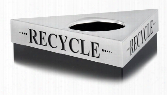 "Recycle"" Recyccling Receptacle Lid By Safco Office Furniture"
