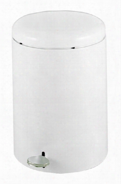 Round Step-on Receptacle, 4-gallon By Safco Office Furniture