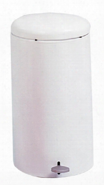 Round Step-on Receptacle, 7 Gallon By Safco Office Furniture