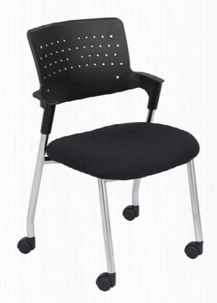 "Spryâ""¢ Guest Chair Black (qty. 2) By Safco Office Furniture"