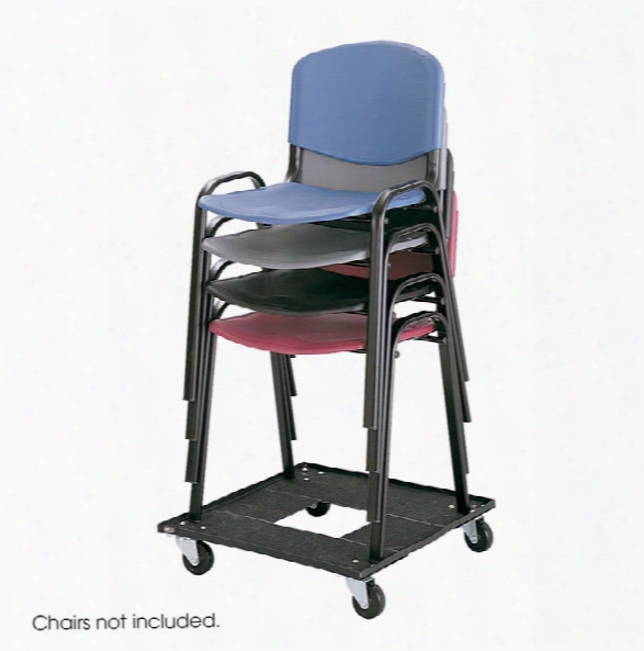 Stack Chair Cart By Safco Office Furniture
