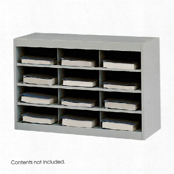 Steel 12 Compartment Project Organizer By Safco Office Furniture