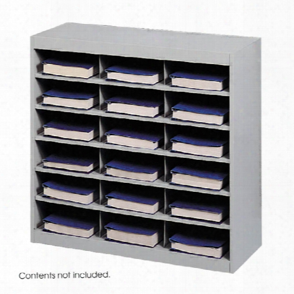 Steel 18 Compartment Project Organizer By Safco Office Furniture