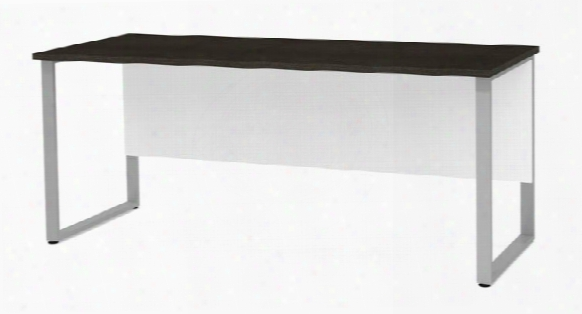 Table With Rectangular Metal Legs By Bestar