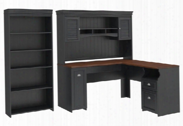Three Piece Office Suite By Bush