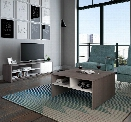 2-Piece Storage Coffee Table and TV Stand Set by Bestar