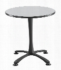 "30"" Round, X Base, Sitting Height Table by Safco Office Furniture"