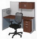 Workstation with Storage & Chair by Bush