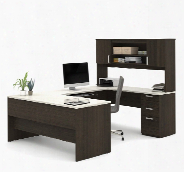 U-shaped Desk By Bestar