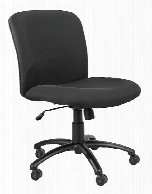 "Uberâ""¢ Big And Tall Mid Back Chair By Safco Office Furniture"