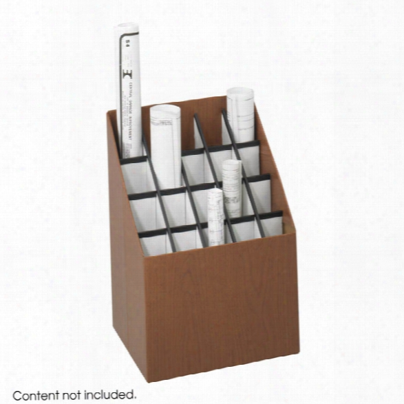 Upright Roll File, 20 Compartment By Safco Office Furniture