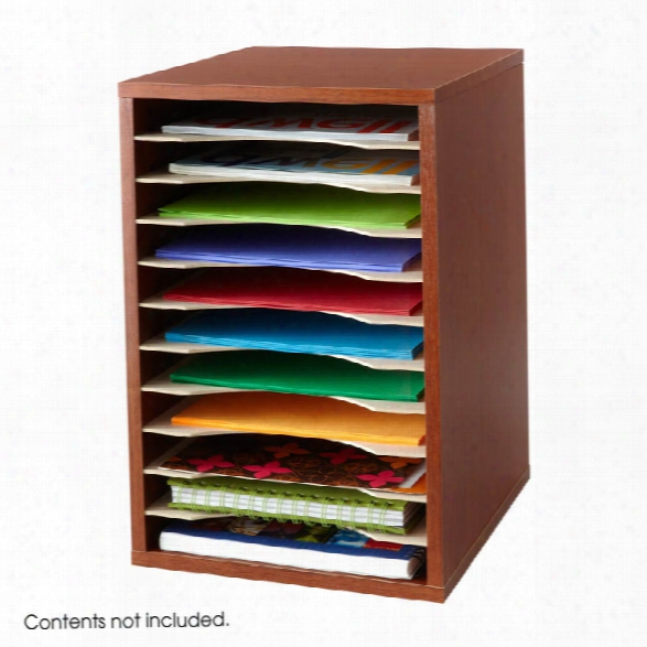 Vertical Desk Top Sorter - 11 Compartment By Safco Office Furniture