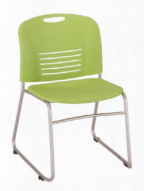 "Vyâ""¢ Sled Base Stacking Chair (qty. 2) By Safco Office Furniture"