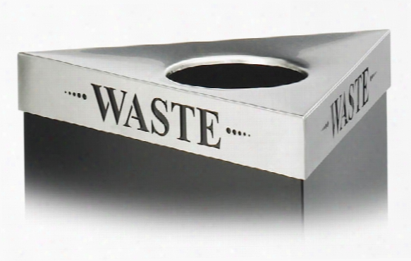 "Waste"" Recycling Receptacle Lid By Safco Office Furniture"