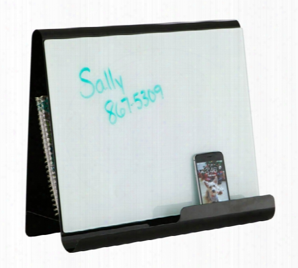 Wave Desk Accessory - Desktop Whiteboard & Magnetic Document Stand By Safco Office Furniture