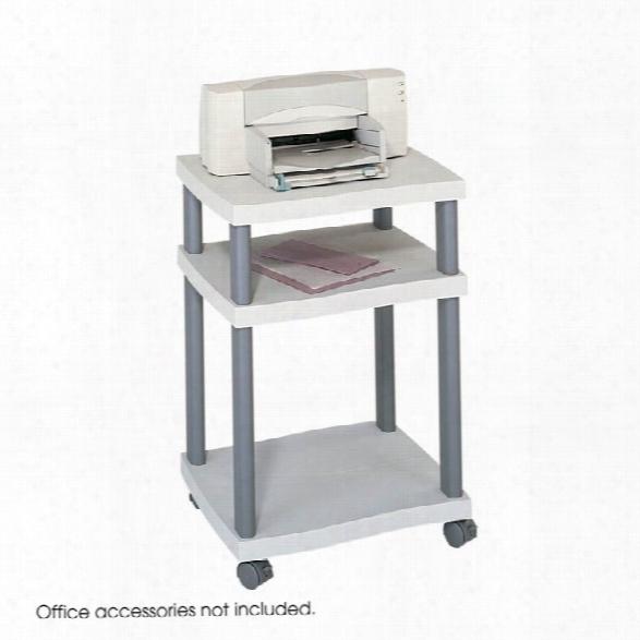 Wave Deskside Printer Stand By Safco Office Furniture