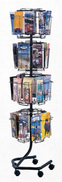 Wire Brochure Display Rack By Safco Office Furniture