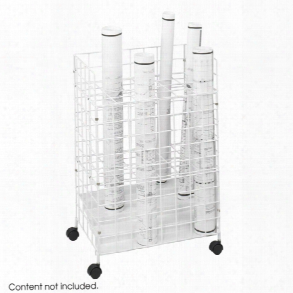 Wire Roll File, 24 Compartment By Safco Office Furniture