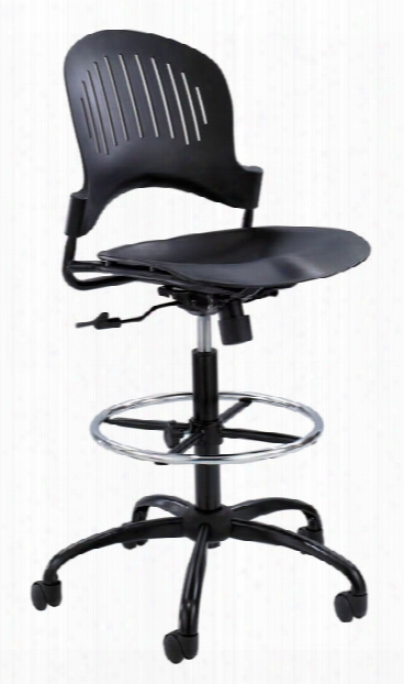 """Zippiâ""""¢ Plastic Extended-height Chair By Safco Office Furniture"""