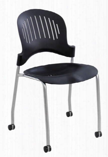"Zippiâ""¢ Plastic Stack Chair (qty. 2) By Safco Office Furniture"