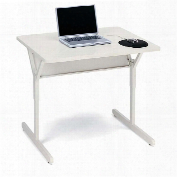 "36"" X 30"" Height Adjustable Computer Table By Bretford"