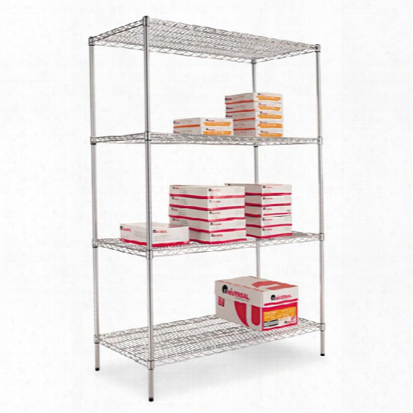 "48"" Wide Extra Deep Wire Shelving By Alera"