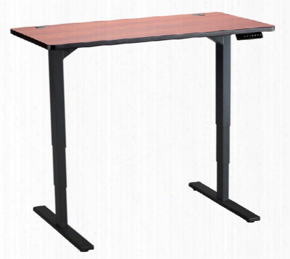"60"" X 24"" Electric Height-adjustable Table By Safco Of Fice Furniture"
