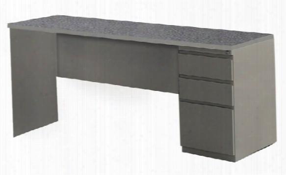 "72"" X 24"" Single Pedestal Credenza By Mayline Office Furnituree"