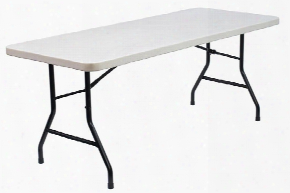 "72"" X 30"" Blow Molded Folding Table By Commercialine"