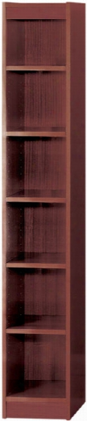 "72""h X 12""w Veneer Bookcase By Safco Office Furniture"