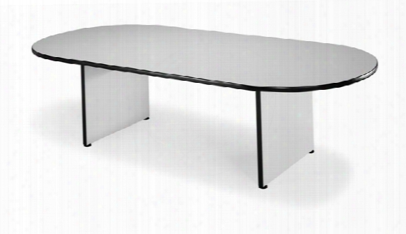 8' Racetrack Conference Table By Ofm