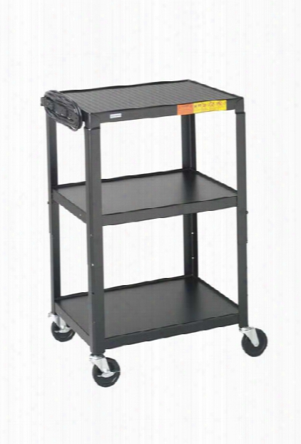 Adjustable Av Cart By Bretford