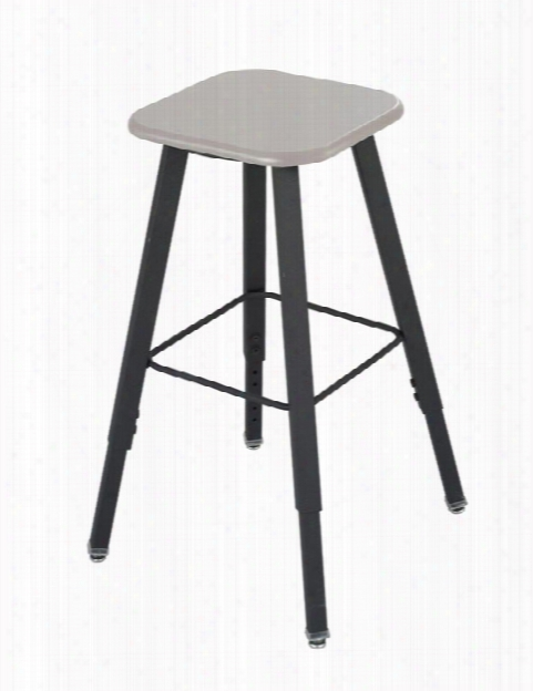 Adjustable-height Student Stool By Safco Office Furniture