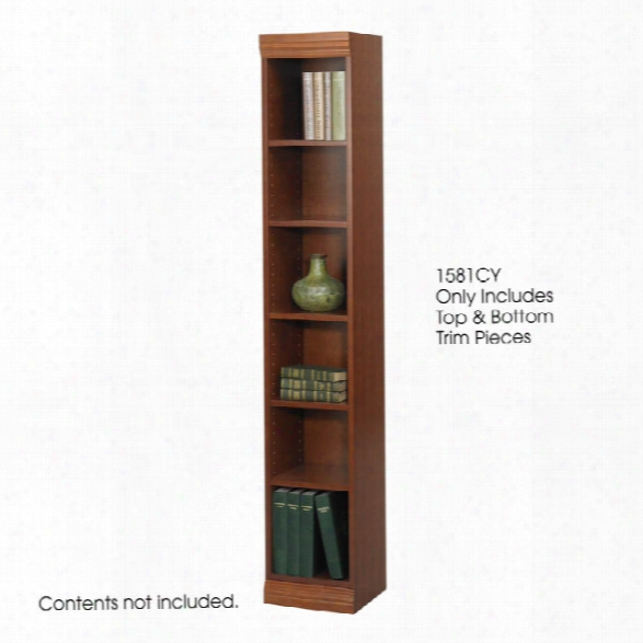 "Baby Bookcase Trim Kit, 12""w By Safco Office Furniture"