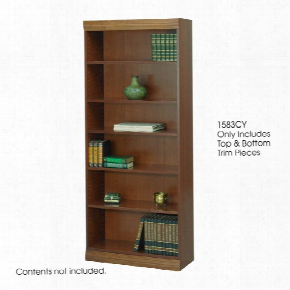 "Baby Bookcase Trim Kit, 30""w By Safco Office Furniture"