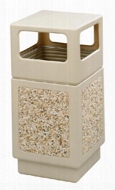 "Canmeleonâ""¢ Aggregate Panel, Side Open, 38 Gallon By Safco Office Furniture"