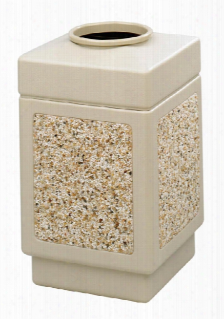 "Canmeleonâ""¢ Aggregate Panel, Top Open, 38 Gallon By Safco Office Furniture"