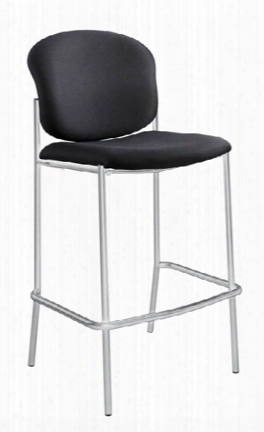 "Diazâ""¢ Bistro-height Chaiir - Black By Safco Office Furniture"