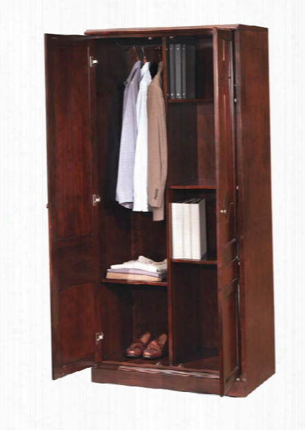 Double Door Storage Wardrobe Cabinet By Dmi Office Furniture