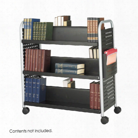 Double-sided Book Cart By Safco Office Furniture