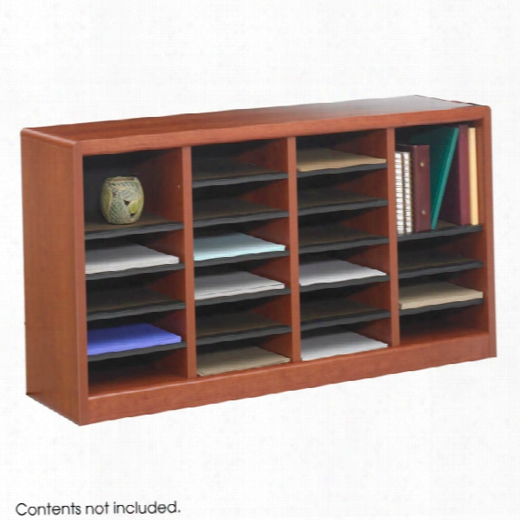 E-z Storã'â® Wood Literature Organizer By Safco Office Furniture