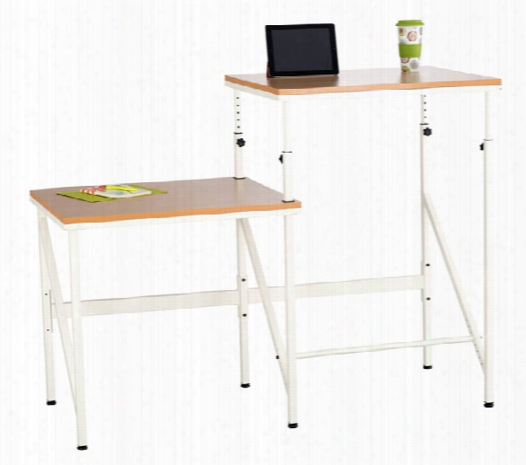 "Elevateâ""¢ Bi-level Desk By Safco Office Furniture"